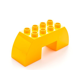 Plastic blocks toy