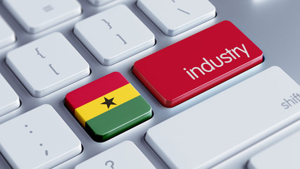 Ghana Industry Concept