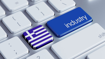 Greece Industry Concept