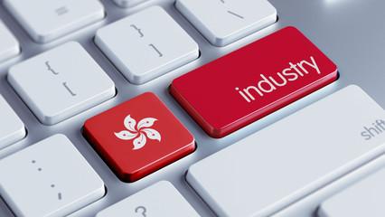 Hong Kong Industry Concept