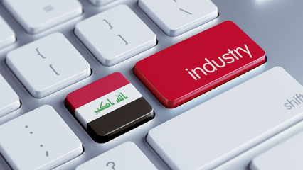 Iraq Industry Concept