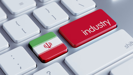 Iran Industry Concept