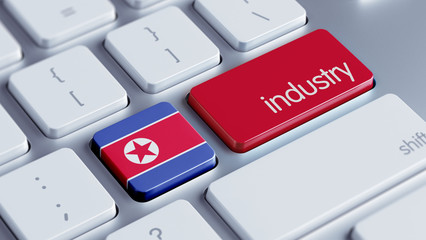 North Korea Industry Concept