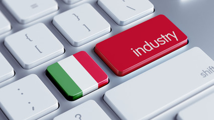 Italy Industry Concept