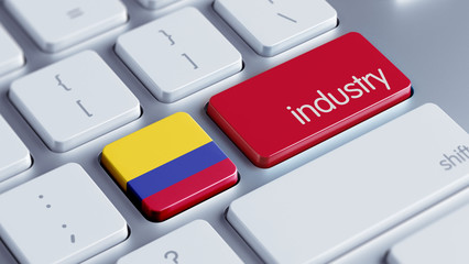 Colombia Industry Concept