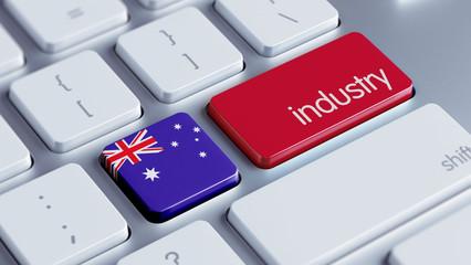 Australia Industry Concept