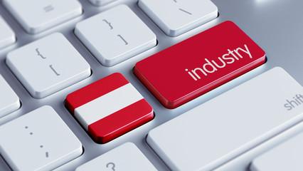 Austria Industry Concept