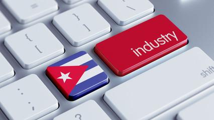 Cuba Industry Concept