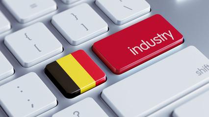 Belgium Industry Concept