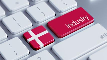 Denmark Industry Concept