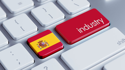 Spain Industry Concept