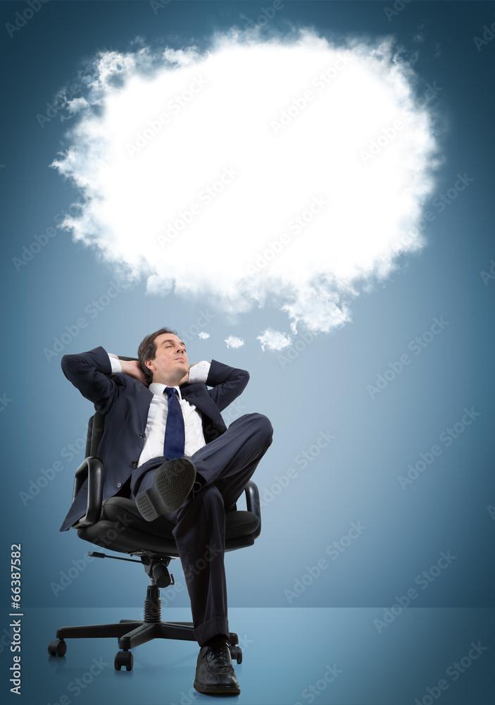 myśleć dreaming chmura - powiększenie