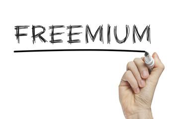 Hand writing freemium