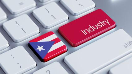 Puerto Rico Industry Concept