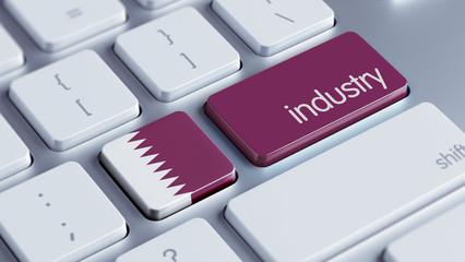 Qatar Industry Concept