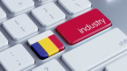 Romania Industry Concept