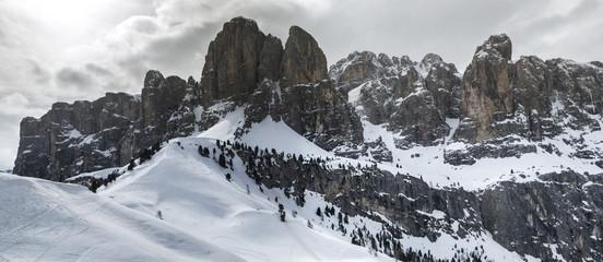 Dolomites, landscape from Gardena Pass