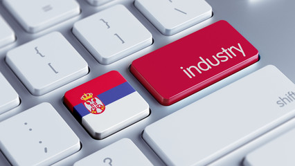 Serbia Industry Concept