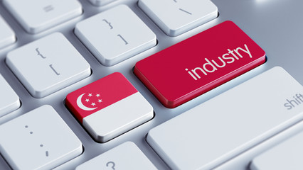 Singapore Industry Concept