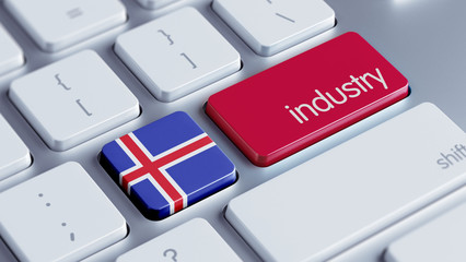Iceland Industry Concept