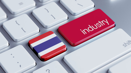 Thailand Industry Concept