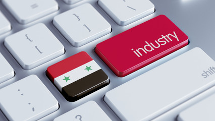 Syria Industry Concept