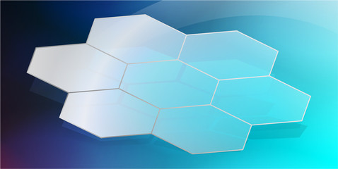 Abstract Hexagon Background_3