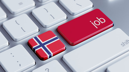 Norway Job Concept