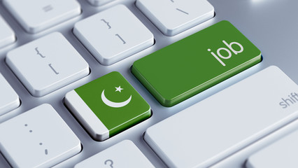 Pakistan Job Concept