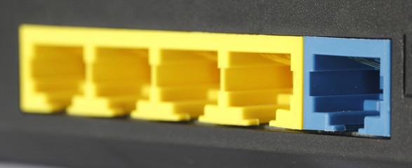 RJ45 Modem Router Port