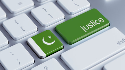 Pakistan Justice Concept.