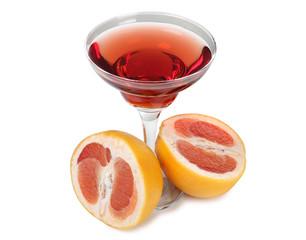 Grapefruit coctail