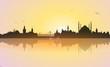 Skyline Istanbul Sunrise