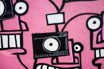 AbstractCamera Graffitti