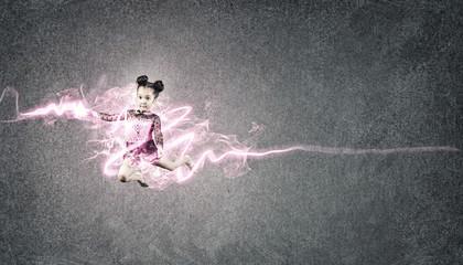 Little gymnast