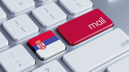 Serbia   Mail Concept
