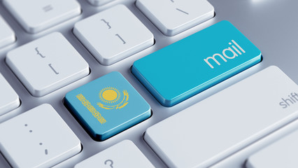 Kazakhstan   Mail Concept