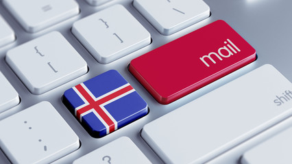 Iceland   Mail Concept
