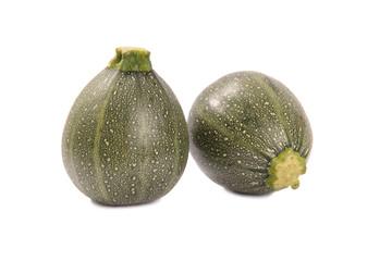 Zucchini in runder Form
