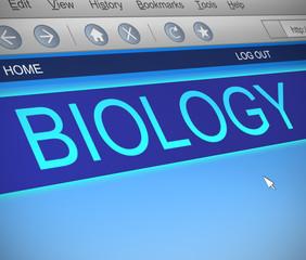 Biology concept.