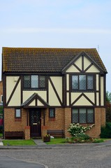 English Mock Tudor House