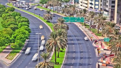 City Traffic Time Lapse