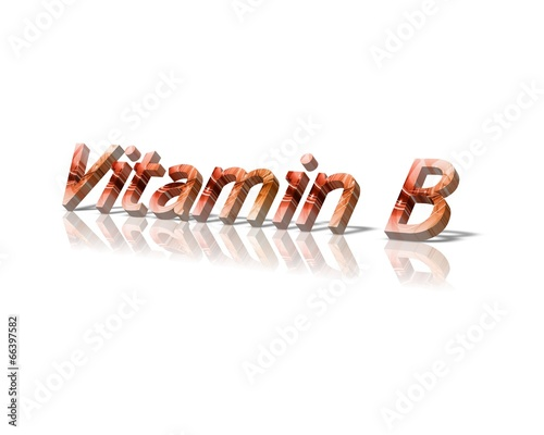 canvas print picture Vitamin b