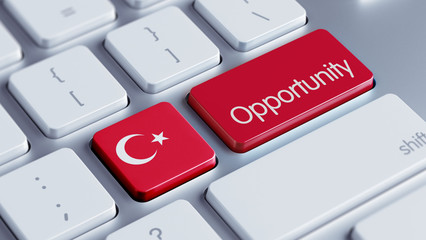 Turkey Opportunity Concept.