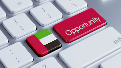 United Arab Emirates. Opportunity Concept.
