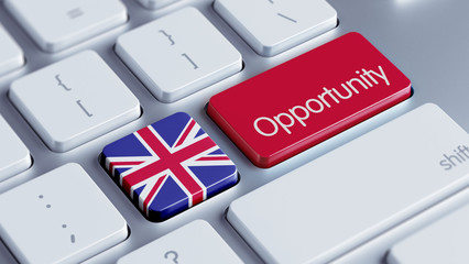 United Kingdom Opportunity Concept.