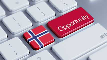 Norway Opportunity Concept.