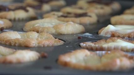 Baking time-lapse. hd video