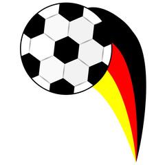 Fussball mit Schweif, Deutschland