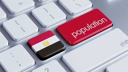 Egypt Population Concept.